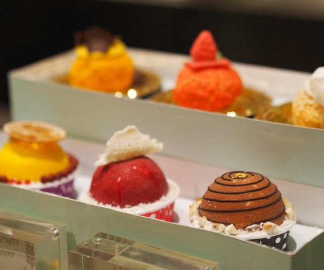 The cakes at The Mulia Deli ... oh my ... the cakes! *Image: Supplied.*