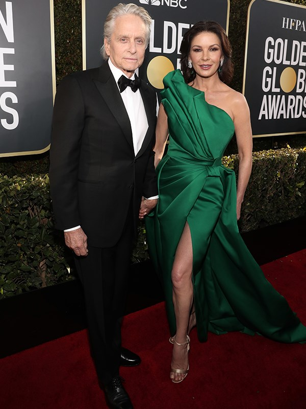 Michael Douglas and Catherine Zeta-Jones looked positively regal together.