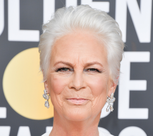 Jamie Lee Curtis at the 2019 Golden Globes. *(Image: Getty)*