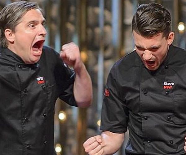 The Gourmet Pommies took the title in 2015. *(Image: Instagram @willandsteve)*