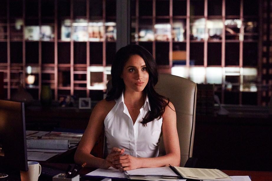 Meghan as Rachel Zane in *Suits*. *(Image: Supplied)*