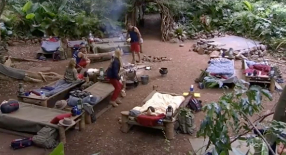 Parts of the campsite might well be modified on the reality TV show. *(Image: Network 10)*