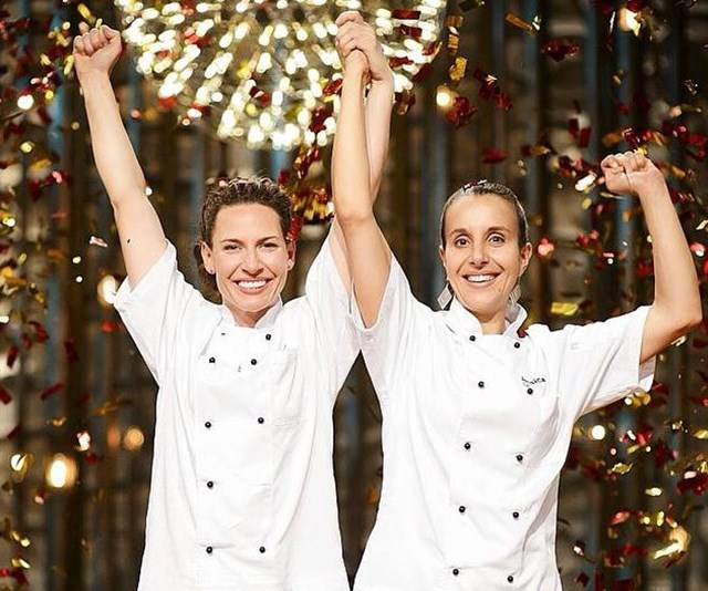 The mums took the *MKR* crown in 2014. *(Image: Channel Seven)*