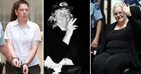 Katherine Knight & 7 other Australian female murderers to