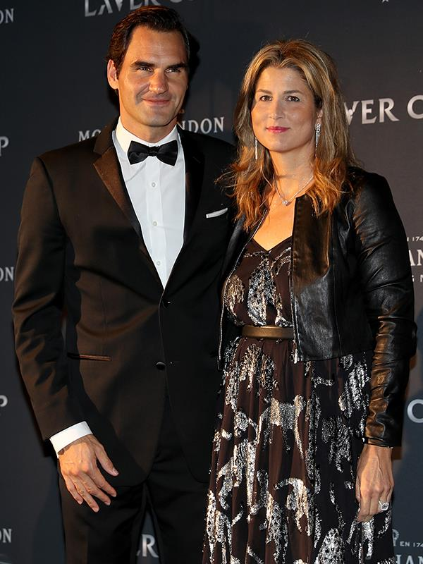 Tennis royalty: Roger Federer and his wife, Mirka. *(Image: Getty Images)*
