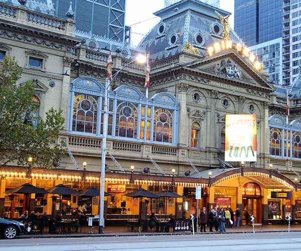 The Princess Theatre.