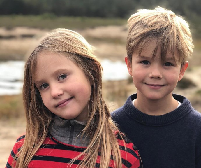 Prince Vincent and Princess Josephine. *(Image: Instagram)*