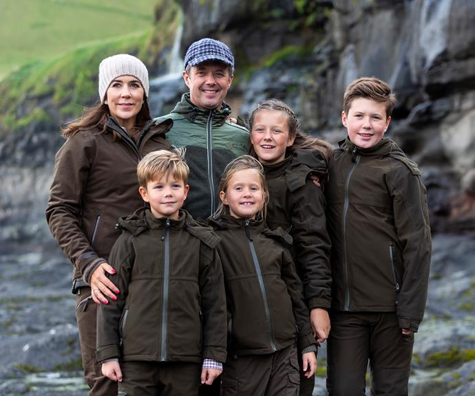 The Danish royal family. *(Image: Getty)*