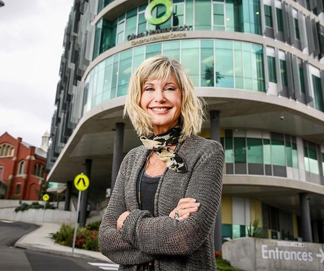 Committed campaigner Olivia started the Olivia Newton-John Cancer Wellness & Research Centre to help others. *(Image: Instagram @onjcancercentre)*