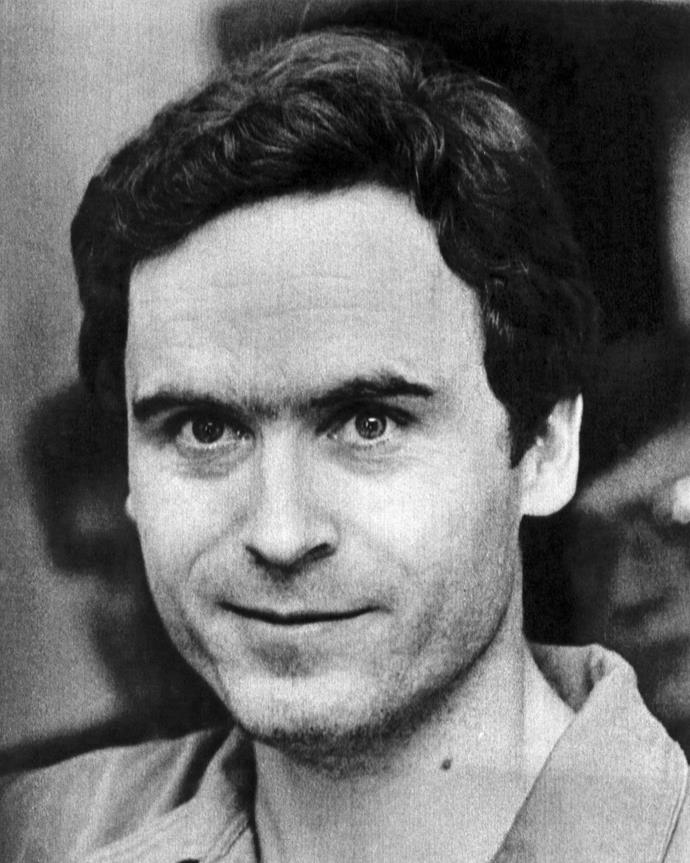 """Ted Bundy once described himself as """"the most cold-hearted son of a b - - - - you'll ever meet"""". *(Source: Getty)*"""