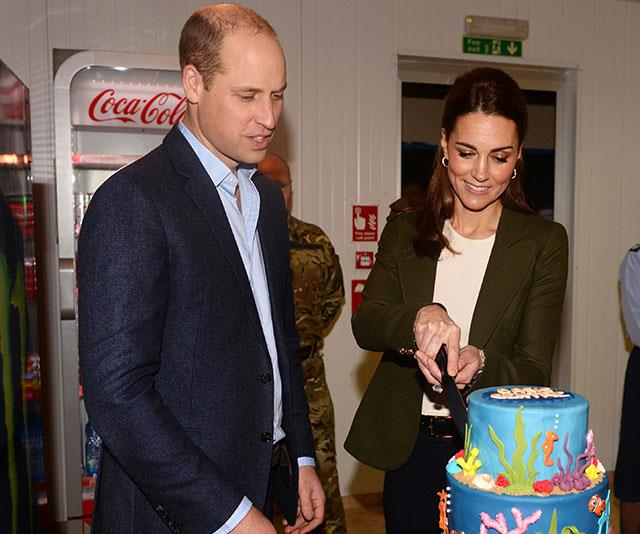 Let them eat cake! Kate reportedly celebrated with a tea party at Kensington Palace. *(Image: Getty)*