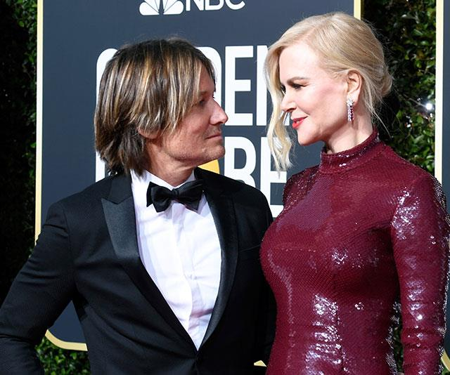 Nicole and Keith are one of Hollywood's strongest couples. Pictured here at the 2019 Golden Globe awards. *(Image: Getty Images)*