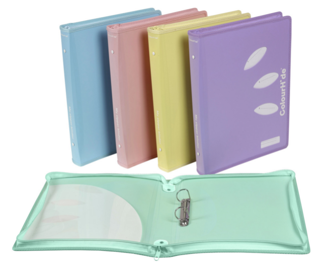 "Zip up folders are a great way to keep all of those important papers safe in school bags. We love the ColourHide A4 My Zipper Binder. ***Image: [Officeworks](https://www.officeworks.com.au|target=""_blank""