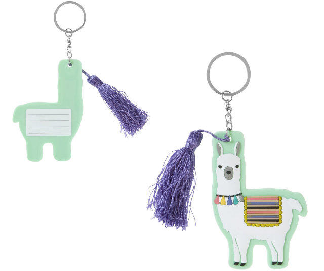 """Label ALL OF THE THINGS! These super-sweet bag tags will be easy to spot in the crowd, Studymate Llama. ***Image: [Officeworks](https://www.officeworks.com.au