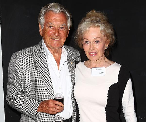 Bob married his second wife Blanche D'Alpuget in 1995. *(Image: Getty Images)*