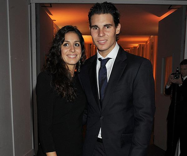 Rafael Nadal and girlfriend Maria Francisca Perello are childhood sweethearts. *(Image: Getty Images)*