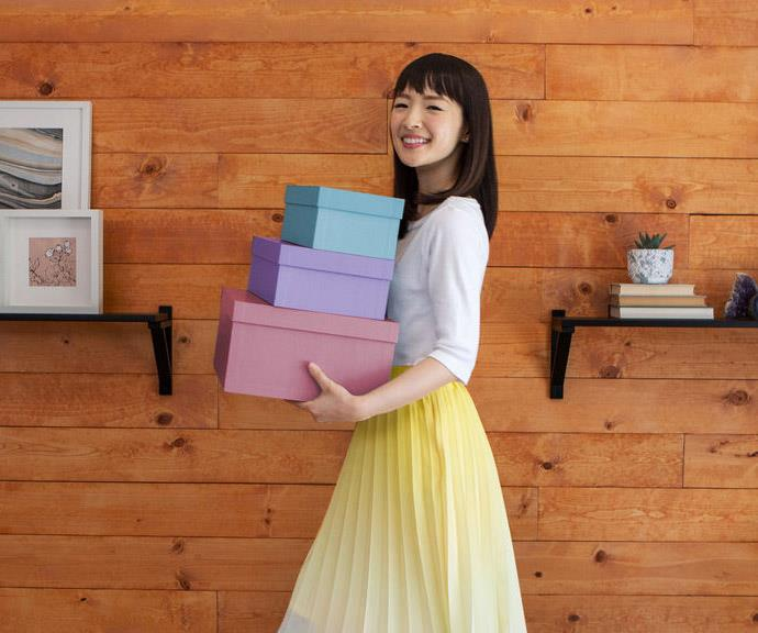 Channel you inner Marie Kondo to declutter and boost your energy. *(Image: Getty Images)*