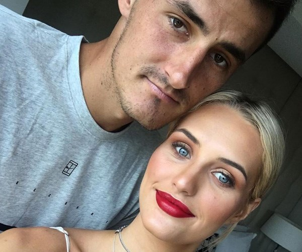 Bernard Tomic is dating blonde beauty Emma Blake-Hahnel. *(Image: Instagram @emmablakehahnel)*