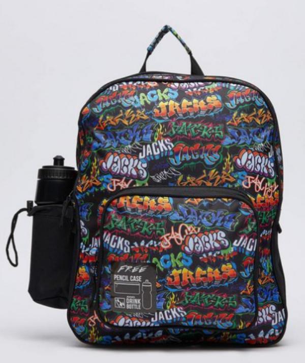 "Jacks Kaboom Backpack RRP $29.99. ***[Image: Citybeach.](https://citybeach.com.au/ target=""_blank"" rel=""nofollow"")***"