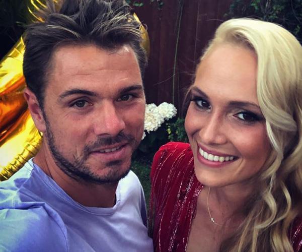 Another tennis power couple! *(Image: Instagram @stanwawrinka85)*