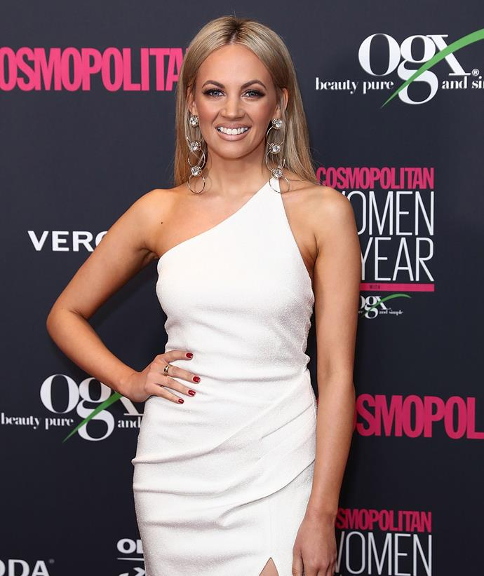 Samantha Jade at the 2018 Cosmo Women Of The Year Awards. *(Image: Getty)*