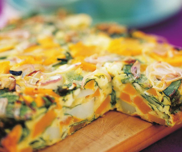 "***Pumpkin, spinach and fetta frittata:*** There'll be no complaints from your little lunchbox police when they open up and see this exciting lunch. *You'll find the recipe [HERE.](https://www.womensweeklyfood.com.au/recipes/pumpkin-spinach-and-fetta-frittata-15411|target=""_blank"")*"