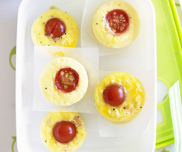 "**Mini ham, cheese and tomato frittatas:** Light, fluffy and packed full of creamy melted cheese and fresh ham, these mini frittatas are easy to make and perfect for school lunch when your child is sick of sandwiches. *You'll find the recipe [HERE](https://www.womensweeklyfood.com.au/recipes/mini-ham-cheese-and-tomato-frittatas-28199|target=""_blank"").*"
