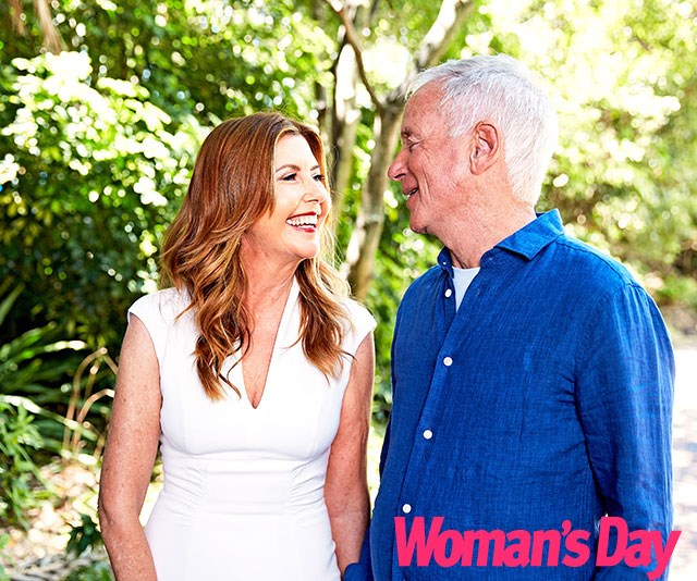 """""""When we first met it was so natural, we had to give each other a hug, we had such energy,"""" Trisha tells us. *(Image: exclusive to Woman's Day)*"""