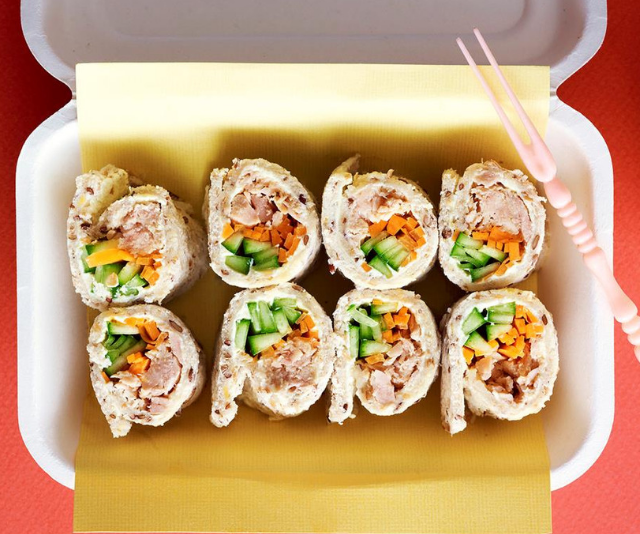 "***Tuna sushi sandwiches:*** These delicious tuna sushi style sandwiches are perfect for a kids' lunchbox or light snack with drinks. *Find the recipe [HERE.](https://www.womensweeklyfood.com.au/recipes/tuna-sushi-sandwiches-24989|target=""_blank"")*"