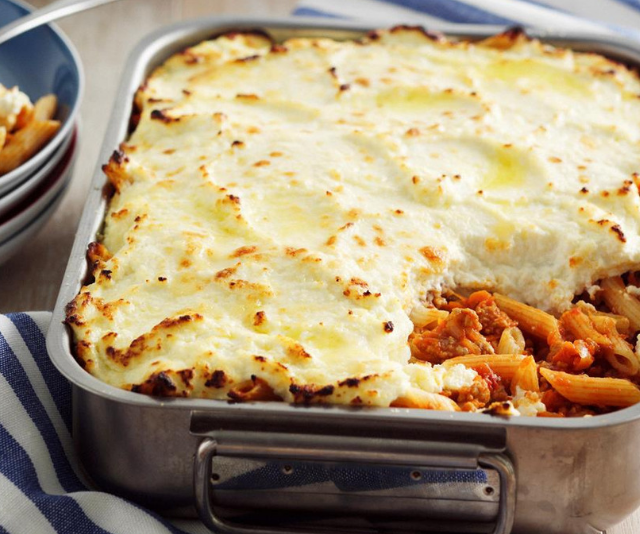 "***Baked bolognese pasta:*** Freeze in lunchbox size portions and make your mornings run smoothly. *Find the recipe [HERE](https://www.womensweeklyfood.com.au/recipes/baked-bolognese-pasta-27128|target=""_blank"").*"