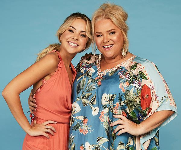 "NAME: ANGIE & YVIE <br><br> AGE: 28 & 46 <br><br> FAMOUS FOR: starring in [Gogglebox Australia.](https://www.nowtolove.com.au/reality-tv/im-a-celebrity-get-me-out-of-here/im-a-celebrity-get-me-out-of-here-cast-confirmed-53340|target=""_blank"") <br><br> CHARITY: Mission Australia (Angie), Safe Pets, Safe Families (Yvie) <br><br> Angie: 'I'm going to miss my bed and my computer!' Yvie: 'I'm the most unfit person in the world. I don't know what I'm thinking!'"