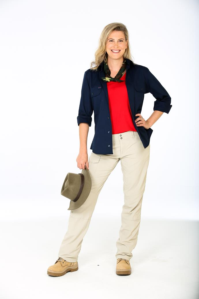 NAME: JUSTINE SCHOFIELD <br><br> AGE: 33 <br><br> FAMOUS FOR: The MasterChef alumni fronts Everyday Gourmet on 10. <br><br> CHARITY: Share The Dignity <br><br> 'I'm looking forward to embracing the spirit of adventure'