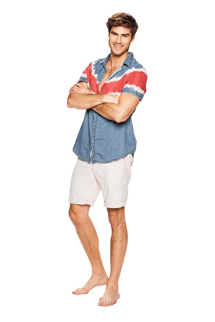 NAME: JUSTIN LACKO <br><br> AGE: 28 <br><br> FAMOUS FOR: starring in Love Island Australia. <br><br> CHARITY: Fred Hollows Foundation <br><br> 'I have a fear of heights!'