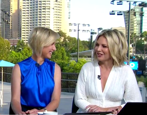 Georgie and Deb look set to be 'partners in crime' on the *Today Show*. *(Image: Nine)*