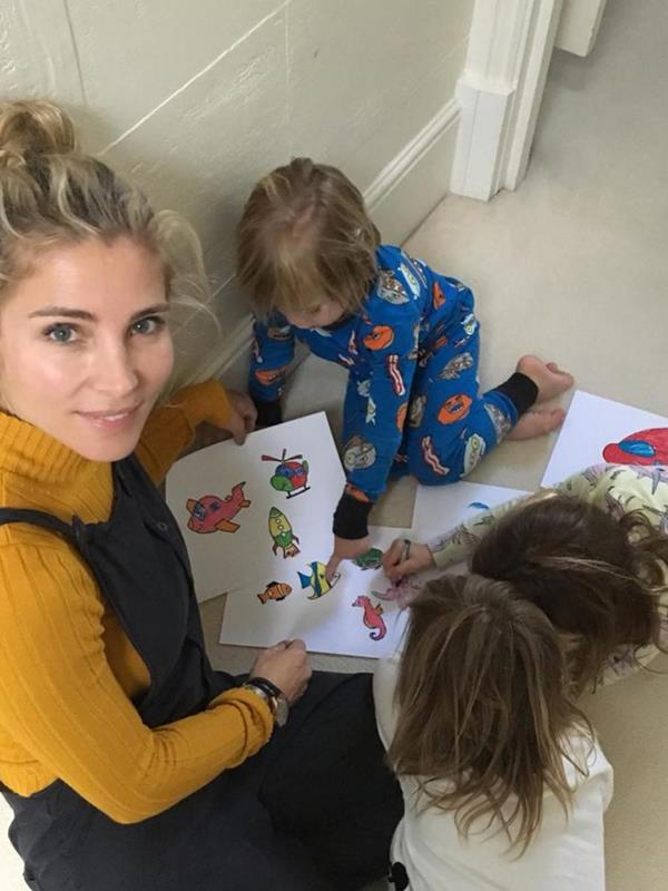 The Hemsworth/Pataky kids are a creative bunch!