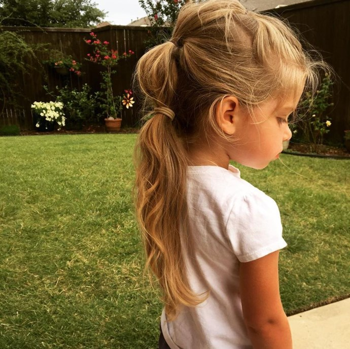 Bubble ponytails can endure all those active activities. *(Image: Instagram @fave4girllynne)*