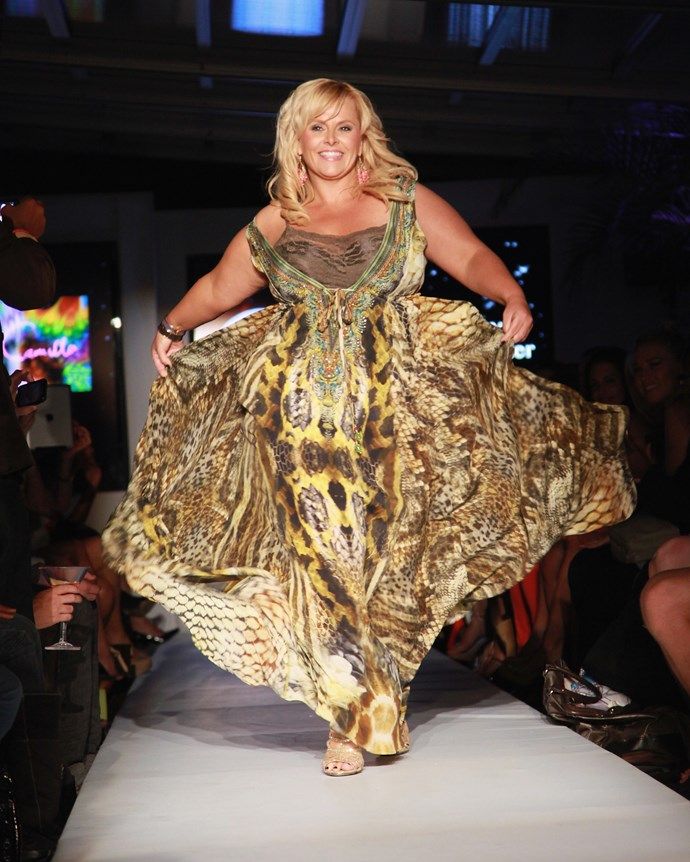 Ajay Rochester at New York Fashion Week in 2013. *(Image: Getty)*