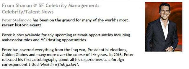 Peter is looking for new opportunities. *(Image: Social Diary)*