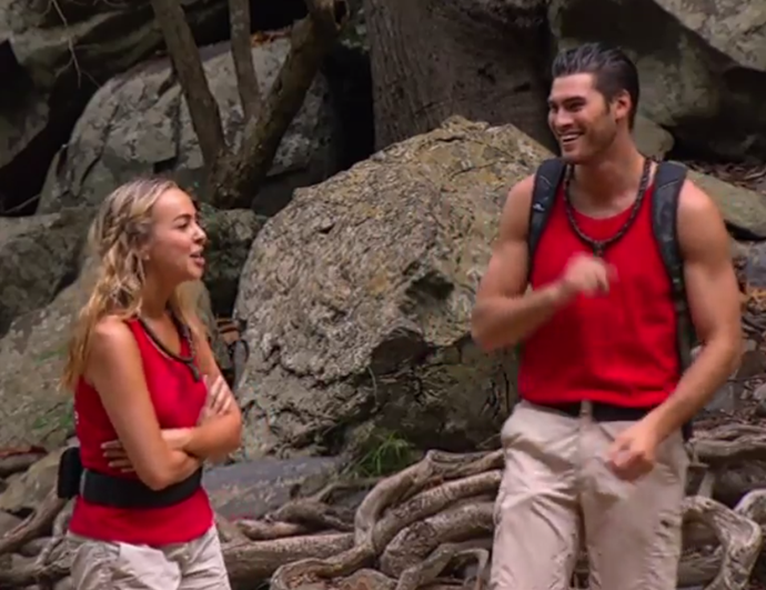 Is that love we see in the jungle air? *(Image: Network Ten)*