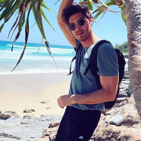 Island life suits Justin...  *(Image: Instagram)*