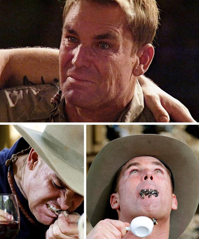 Shane Warne was put through the ringer during his stint on the show! *(Images: Network Ten)*