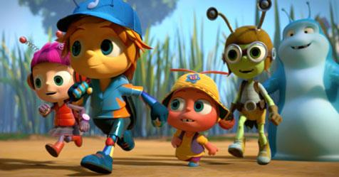 ***Beat Bugs:*** With songs made famous by The Beatles but performed by current artists, like Pink and Sia, five backyard bugs learn valuable lessons about life.   (2016; G)