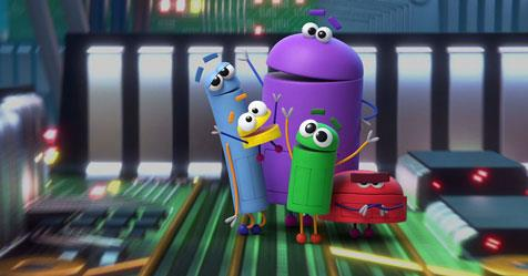 "***Ask The StoryBots:*** Five curious creatures – Beep, Bing, Bang, Boop, and Bo are on a mission to track down the simple answers to big questions, like ""Why is the sky blue?"" and ""Why do we need to brush our teeth"". (2018; G)"