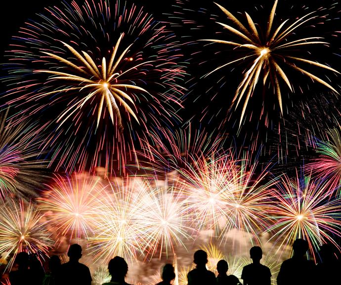 **Adelaide** <br><br> The fireworks will be launched from Pinky Flat and the River Torrens at 9.30pm. Find yourself a spot along the River Torrens - there are two vantage points there that offer the best views.
