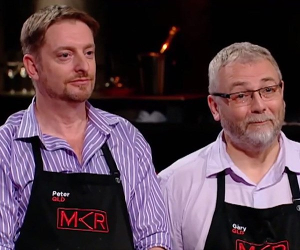 Peter and Gary's mashed potato fiasco ultimately was their downfall. *(Image: Channel Seven)*