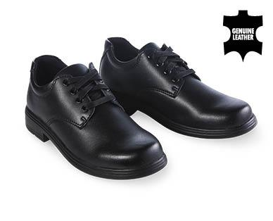 "Premium Lace Up Leather School Shoes, $14.00 from [Aldi](https://www.aldi.com.au/en/back-to-school/gear-learning/bts-gear-learning-detail/ps/p/premium-lace-up-leather-school-shoes/|target=""_blank""