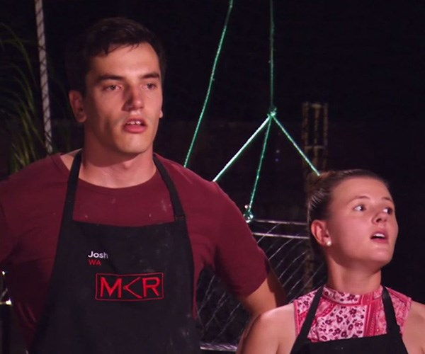 The Seafood King and his queen were dethroned. *(Image: Channel Seven)*