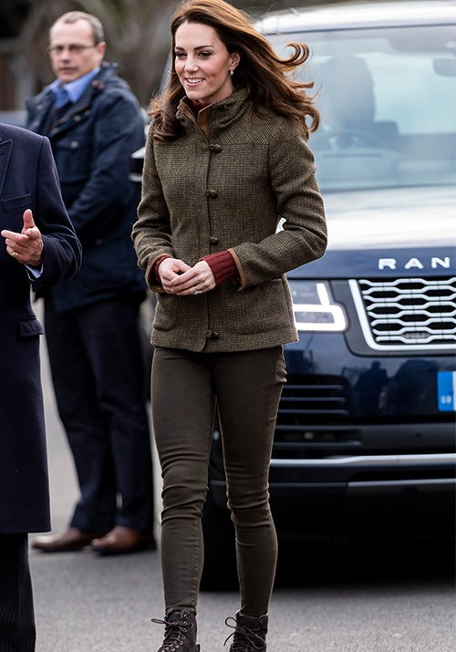 The stylish royal was dressed for business! *(Image: Getty)*