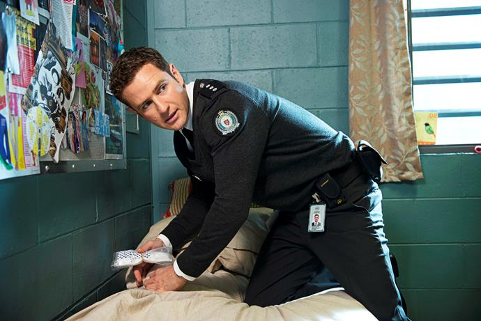 Bernard initially had doubts over the role on *Wentworth.*