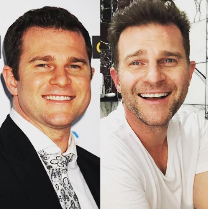 """Sober 5 years. Vegan 3 years. 30kgs lighter. Happier than ever."" The *Today Extra* host has made some serious lifestyle changes since 2009. *(Image: Instagram @davidcampbell73)*"